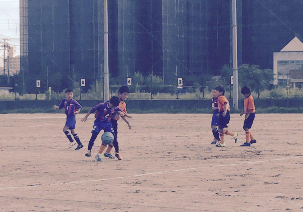 U9チーム練習試合