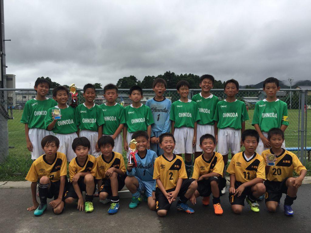 岩沼西サッカーカーニバルに参加しました