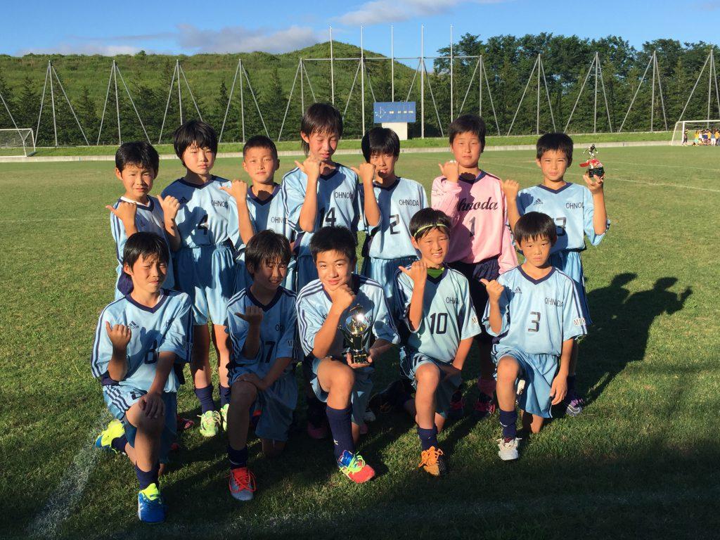2016年七ヶ浜サマーカップ 第3位!
