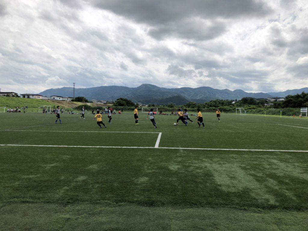 白石川サッカー公園交流戦に参加しました(2020.7.24)